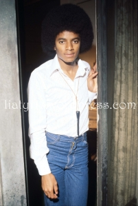 Entertainer Michael Jackson Stands September 1977 In New York City Jackson Who Was The