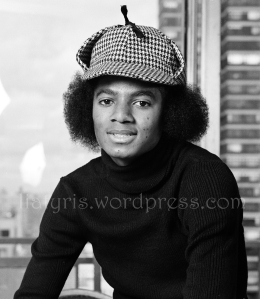 Michael jackson in New York in 1974