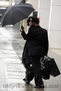 EXCLUSIVE: Michael Jackson shops at Sharper Image in  Beverly Hills