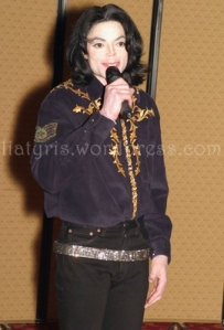 Michael Jackson At The Clearchannel Broadcasting Convention